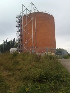 Trapphus vattentorn Bosvedjan 2012-08-21