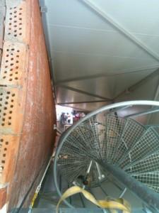 spiraltrapp Bosvedjan